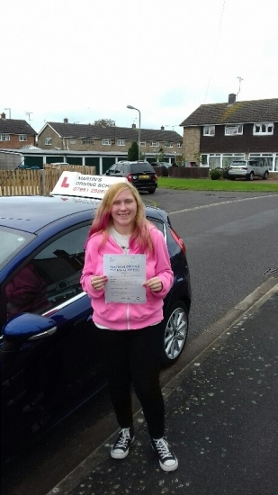 A great first time pass for Amber with just a handful of faults.