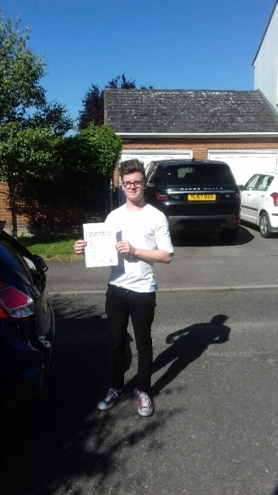 A great first time pass for Ben.