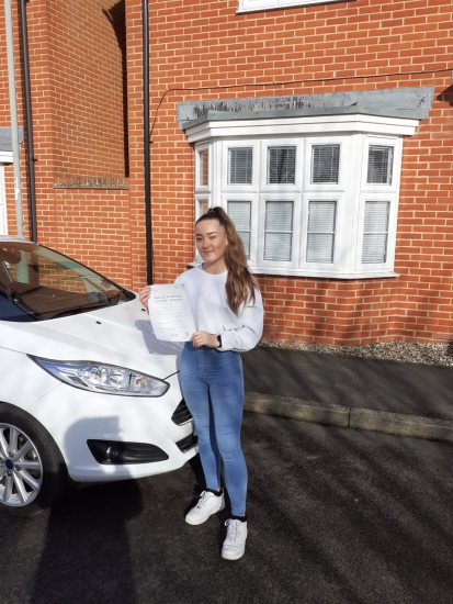 A great pass for Beth with just 3 minors on her first attempt
