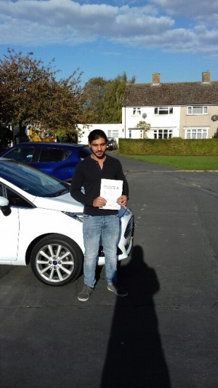A massive well done to Ceiran who passed on his first attempt wit a clean sheet zero faults!