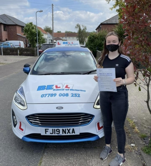 Fantastic FIRST TIME ZERO fault PASS for instructor Natasha
