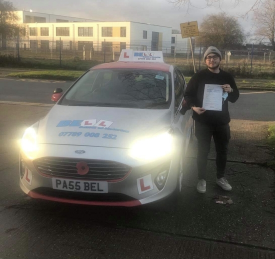 GREAT FIRST TIME PASS for instructor Steve with only FOUR faults