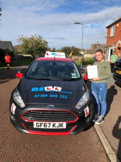 ANOTHER GREAT PASS for Instructor Pete with only THREE faults
