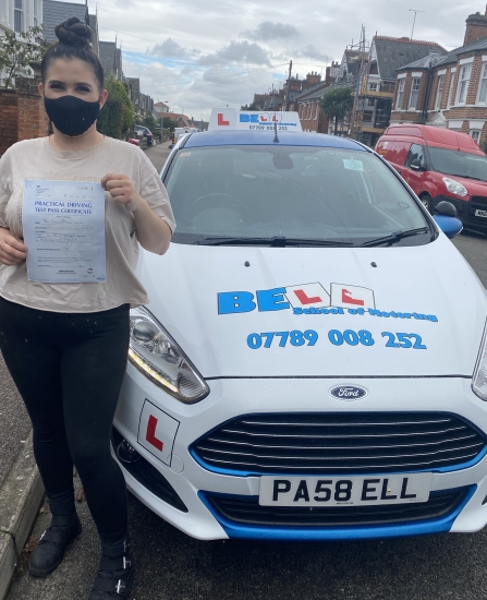 GREAT PASS for Instructor Michelle