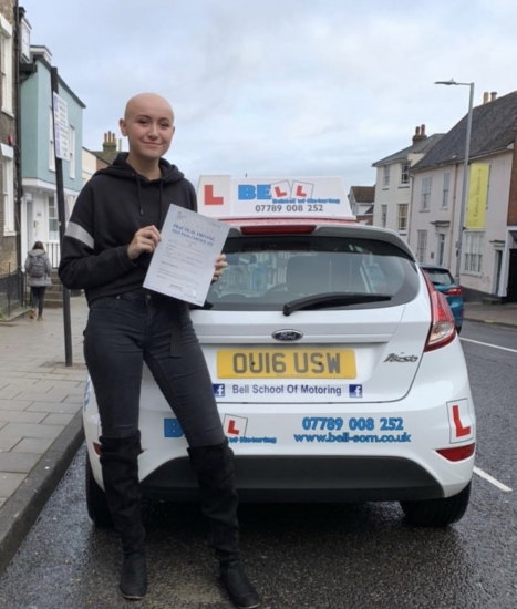 FANTASTIC FIRST TIME PASS with only FOUR faults for INSTRUCTOR MATT