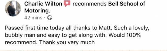 Amazing review for instructor MATT