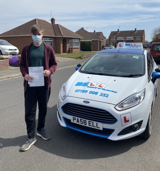 FANTASTIC PASS with only ONE fault for Instructor Michelle