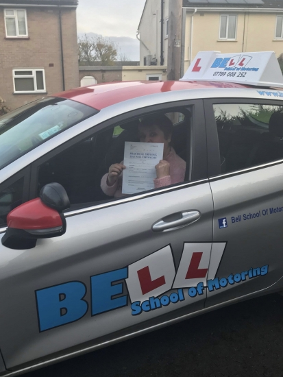 Another pass for instructor Steve with only six faults.....