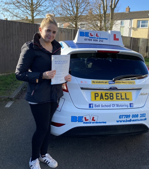 FANTASTIC PASS for instructor Michelle with only FIVE faults