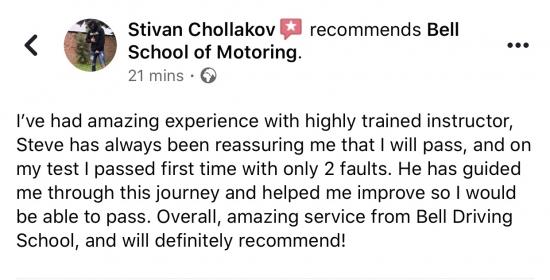 FANTASTIC review for Instructor Steve