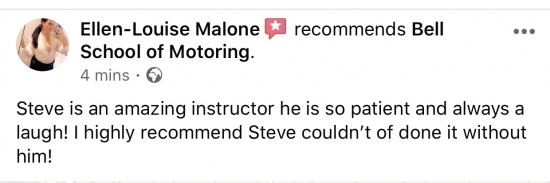 Another GREAT review for instructor Steve