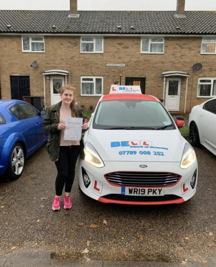 FANTASTIC FIRST TIME PASS for instructor Matt with only ONE fault