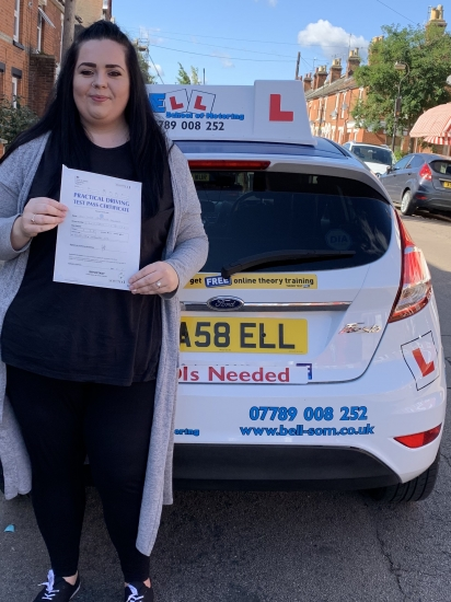 FIRST TIME PASS for INSTRUCTOR Michelle with only FIVE minird