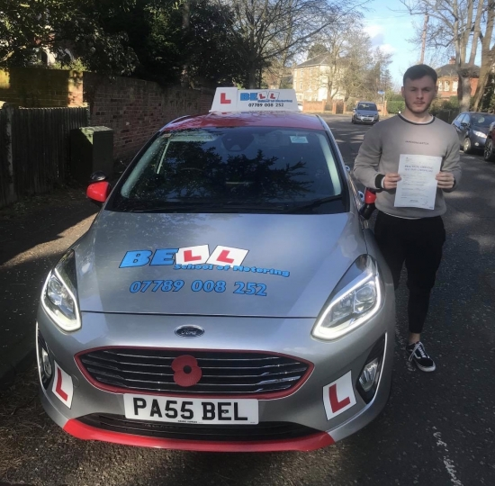 Another FIRST TIME PASS for instructor Steve