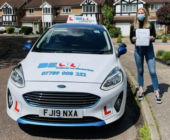 Another excellent FIRST TIME PASS for instructor Natasha