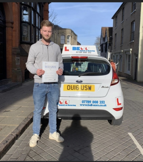AMAZING FIRST TIME PASS for instructor Matt with only TWO faults