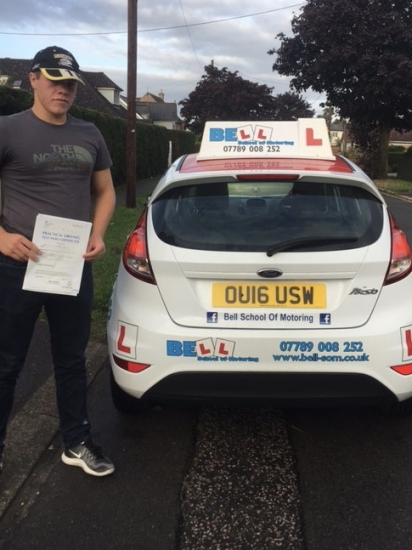 PASSED on the FIRST ATTEMPT with Matt with only FIVE faults ....
