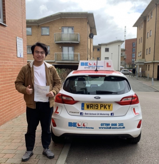 Another AMAZING FIRST TIME PASS for instructor MATT