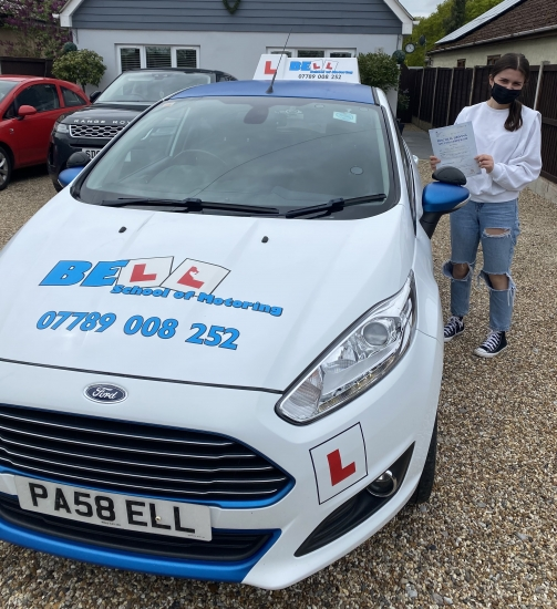 Another GREAT PASS for instructor Michelle