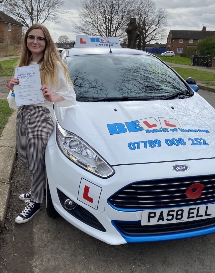 FIRST TIME PASS for instructor Michelle