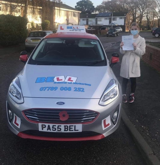 Fantastic FIRST TIME PASS for instructor Steve with only TWO faults