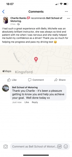 GREAT review for instructor Michelle