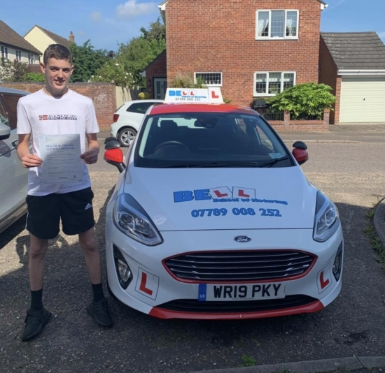 Another GREAT FIRST TIME PASS for instructor Matt with only TWO faults