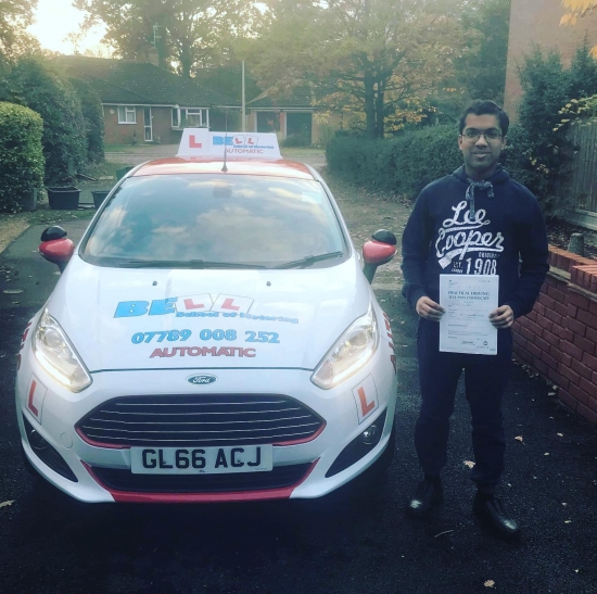 FIRST TIME ZERO fault PASS for INSTRUCTOR STEVE