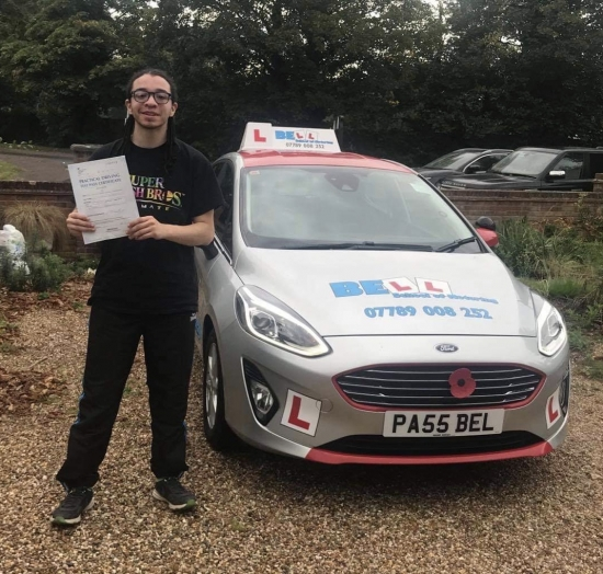 FANTASTIC FIRST TIME PASS for Instructor Steve