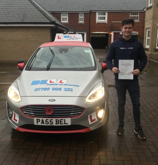 Another FIRST TIME PASS for instructor STEVE with only<br /> TWO faults...