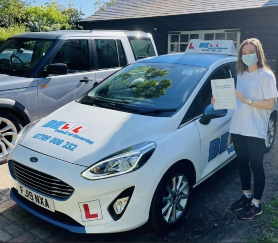 Great PASS for instructor Natasha with only FIVE driving faults