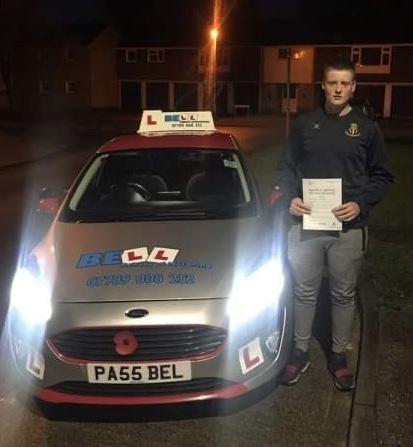 EXCELLENT FIRST TIME PASS for instructor Steve with only TWO faults