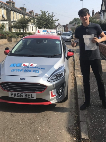 PASSED FIRST TIME with Steve with only FOUR minors