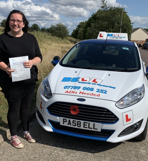 PASSED FIRST TIME with MICHELLE with only THREE faults