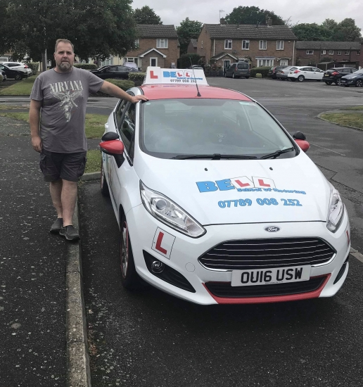 Hi, my name is Matt and I joined the Bell Team in 2017 when I qualified to become a driving instructor.
