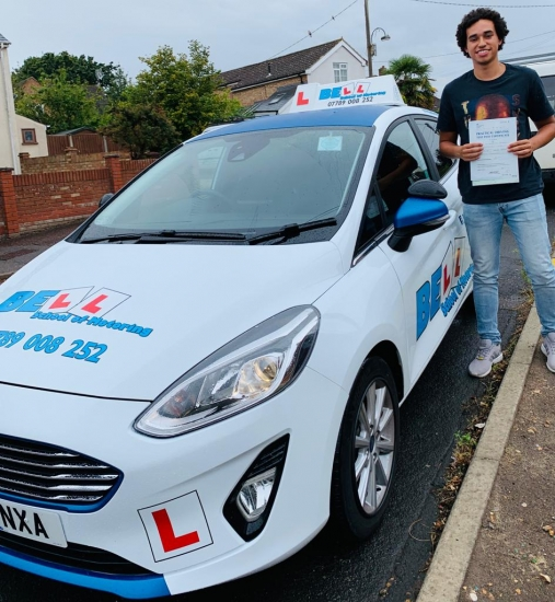 FIRST TIME PASS WITH ONLY ONE FAULT