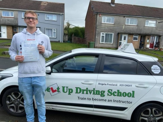 Congratulations Adam Yeo on passing your driving test today!  Well done and stay safe.