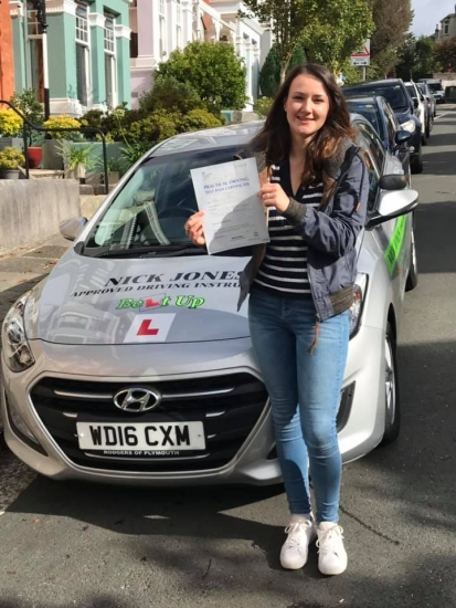 Massive congratulations to my student Adriana on passing her Driving Test this morning !!!!! Stunning drive Adriana and sorry I cried when you got your result