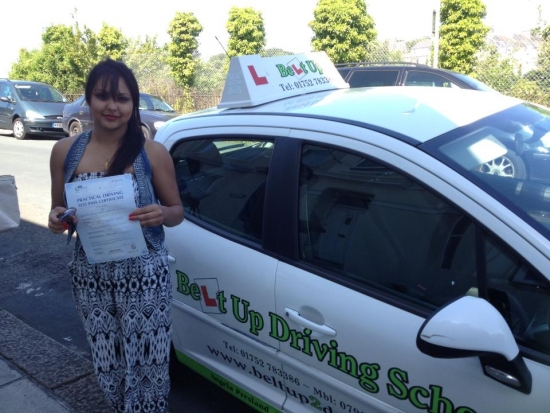 Passed my driving test today after being taught by Angie It was my first try and I have Angie to thank for that Best instructor who I would recommend to anyone