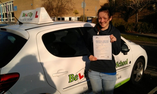 Fantastic driving instructor Couldnt imagine being taught by anybody else Always made sure I understood everything and was incredibly encouraging Thank you for the help and support