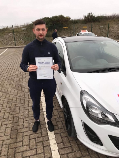 Great start to the year ! Congratulations to Callum Attwood for passing your driving test today first time with only 3 driver faults with Gemma!! Stay safe 🚘🎉🎉