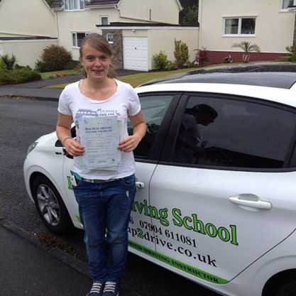 Angie is a great instructor who always instilled confidence in me even if I was having a moment She is always well prepared and can teach you in different wayS Which definitely helped me to pass 1st time in less than 20 hours Thank you Angie p S sorry this took me so long to get round to writing<br /> <br /> Belt Up Driving schools response: Ha ha no problem You were a star pupil who learnt ver