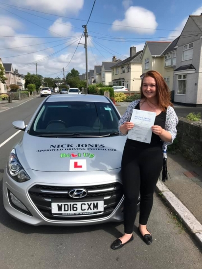 Congratulations to my student Fran Dodd on passing her Driving Test today on her first attempt!  Enjoy your freedom Fran and drive safe