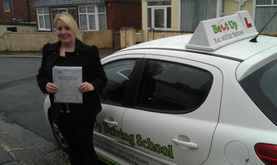 Angie is an amazing driving instructor; I passed both my theory and practical test first time with Angie's help I would highly recommend anyone looking for lessons to go and have lessons with Angie She is very patient and clear at explaining things and makes her lessons enjoyable She built up my confidence with my driving through well taught and structured lessons and a lot of positive encour