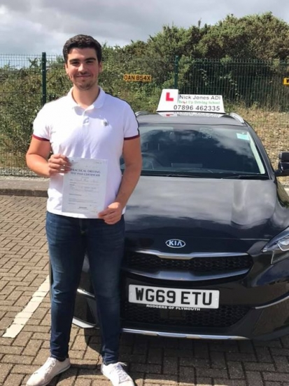Congratulations to my student Jake Walke on passing his driving test this morning on his first attempt !!!! Fantastic drive Jake and I'll see you on the road