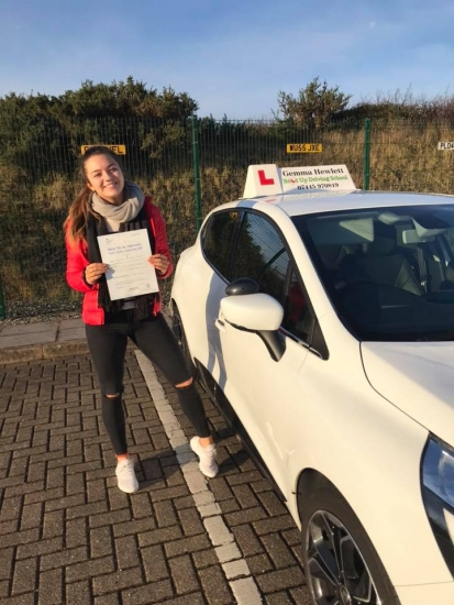 Gemma is so proud of Jasmine Skinner for passing her driving test today in Plymouth 🎉🎉 Happy car shopping and stay safe ���🎉
