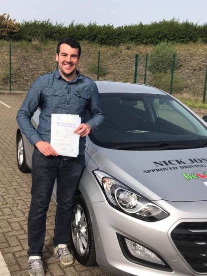 Congratulations to my student Josh Walke on passing his Driving Test this morning on his first attempt and with only 2 minors!!!!! Fantastic drive Josh see you on the road