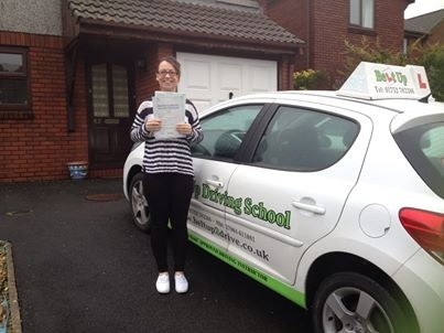 Thank you for everything Angie passing my test meant so much to me After failing 3 tests with another instructor I was very disheartened so thank you for showing me where I was going wrong and giving me a better understanding Im so happy after passing my test today I cant thank you enough All the best Kellianne : xx