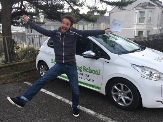 Liam Young reviewed Belt Up Driving School — 5 stars<br />