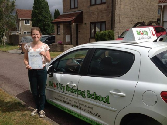 I passed on my first attempt today after lessons with Angie and I cant recommend her highly enough Very positive and so patient Angie puts the student first and always makes sure youre happy with what youre doing even if it means doing a bay park 10 times in one lesson Im going to miss our weekly lessons Thank you so much Angie :